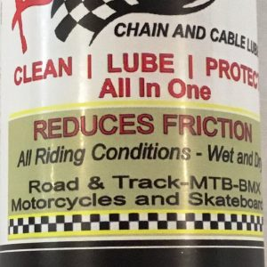 "Bio-Based ""Green Engineered"" Chain and Cable Lube Krank-It™"